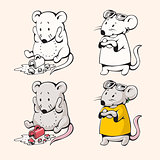 Cartoon mice