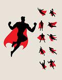 Superhero Silhouettes