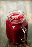 Cranberry smoothie