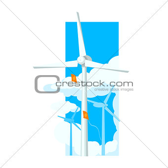 Alternative Energy Wind Farm