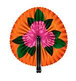 fan pink flowers