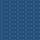 Tile vector pattern or blue and white background