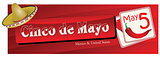 Banner for Cinco de Mayo