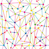 Lines and dots network