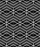 Seamless diamonds and hexagons pattern.