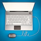 Laptop 3D illustrator
