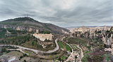 View of Cuenca and the Parador de Turismo, Spain