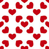 seamless red heart