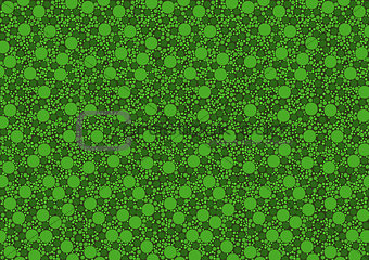 Green Dotted Texture