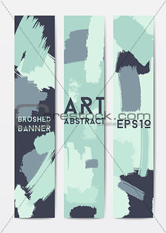 Abstract grunge banner templates