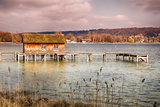Hut Lake Ammersee Bavaria