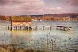 Hut Lake Ammersee Bavaria