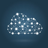 Cloud computing concept - internet communication network