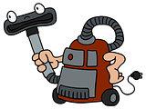 Funny vacuum cleaner