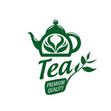 vector logo tea