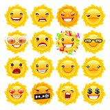 Fun Sun Emojis