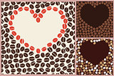 coffee love pattern