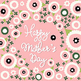 Mother's Day, floral pattern