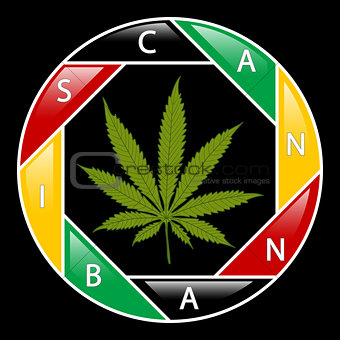 Cannabis icon-background