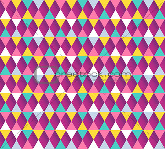 Argyle seamless pattern. Vector illustration.