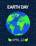 Earth Day card.