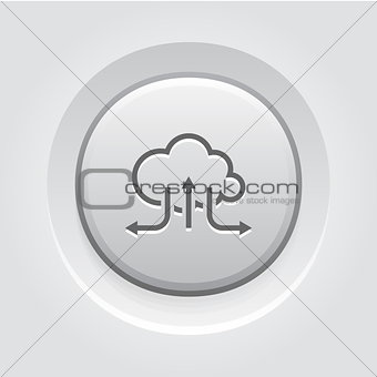 Accelerate Your Cloud Icon. Business Concept