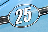 race car number 25