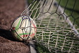 ball scored into the net