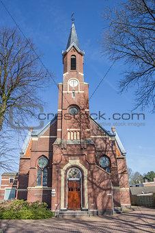 Old church Ontmoetingskerk in Sappemeer