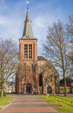 Reformed church in the center of Veendam