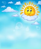Cheerful sun theme image 4
