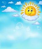 Cheerful sun theme image 4