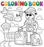 Coloring book travel thematics 2