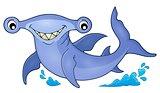 Hammerhead shark theme image 1
