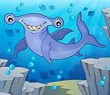 Hammerhead shark theme image 2