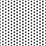 Vector seamless scribble dotted pattern