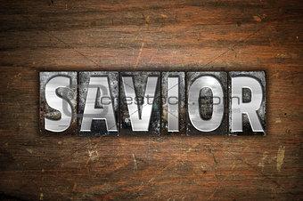 Savior Concept Metal Letterpress Type