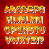 Comic Colorful Alphabet