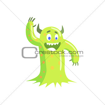 Green Mucus Childish Monster