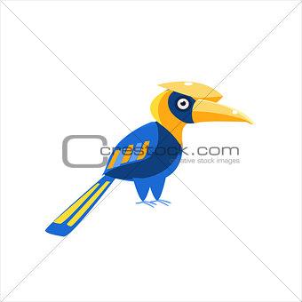 Blue Hornbill Bird