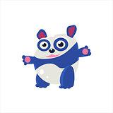 Blue Panda Bear