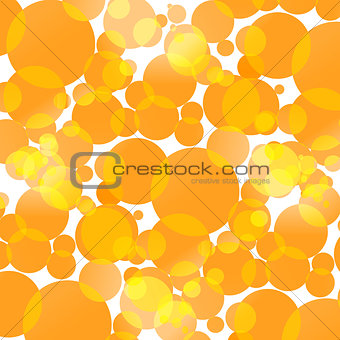 Background with yellow circles