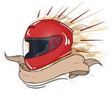 moto helmet integral