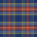 vector seamless blue and red Scottish tartan