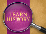 Learn History through Magnifying Glass.