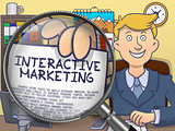 Interactive Marketing through Lens. Doodle Style.