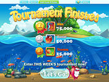 Fish world - tournament finished for computer web game