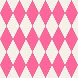 Pink tile vector pattern