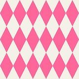 Pink tile vector pattern