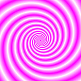 Pink and White Swirl
